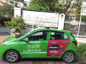 quảng cáo taxi open99