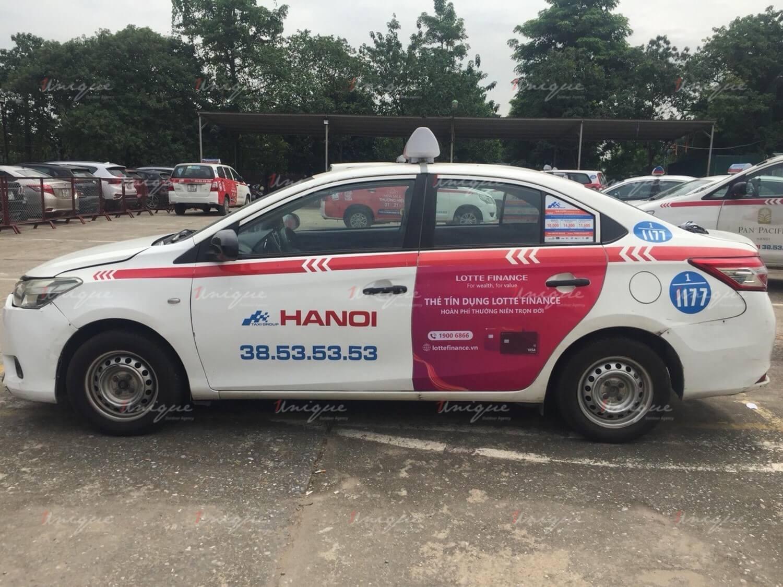 Lotte Finance phủ sóng thương hiệu với chiến dịch quảng cáo taxi